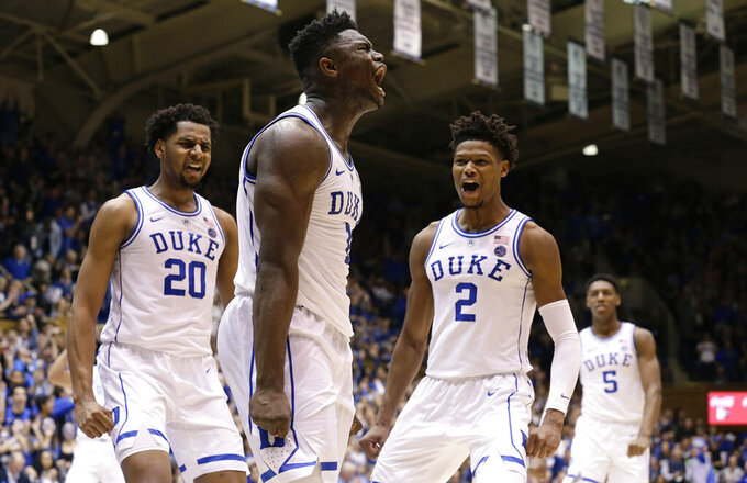 No.2 Duke and No. 3 Virginia get high-profile rematch