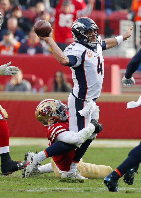 Broncos 49ers Football