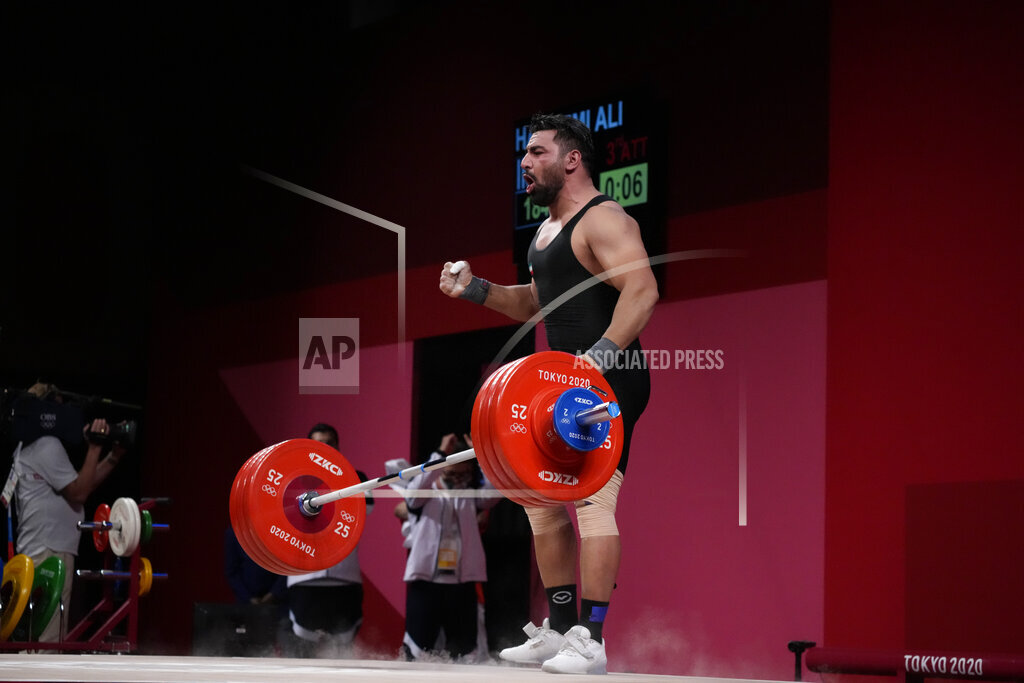 Tokyo Olympics Weightlifting
