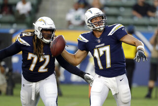 Philip Rivers, Joe Barksdale