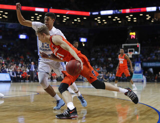 ACC Syracuse North Carolina Basketball