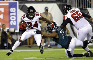Falcons Freeman Returns Football