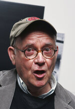FILE - In this Nov. 28, 2006, file photo, actor Buck Henry arrives to the private screening of the