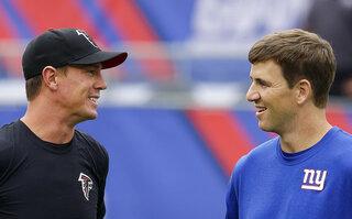 Matt Ryan, Eli Manning