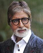 FILE- In this Wednesday, Aug 21, 2013, file photo, Bollywood actor Amitabh Bachchan attends a promotional event for his upcoming movie