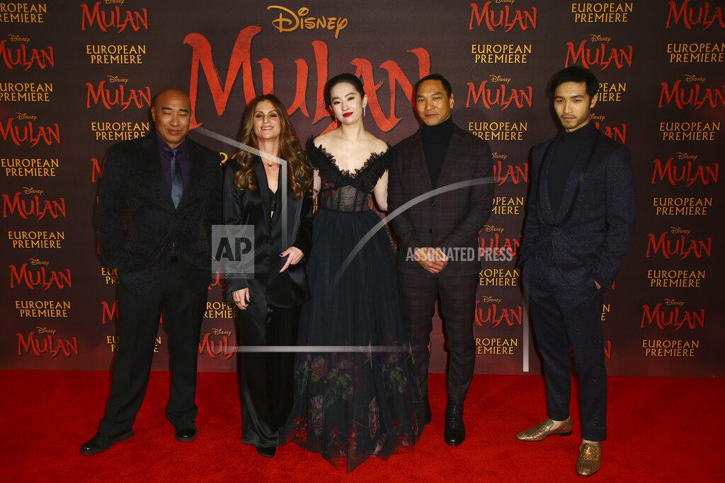 Britain Mulan premiere