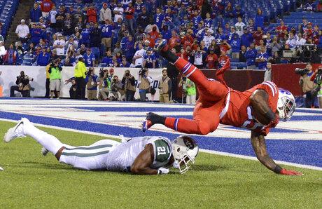 APTOPIX Jets Bills Football