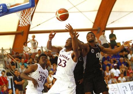 Italy Basketball University of Kansas Jayhawks