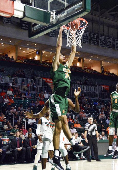 Isaiah Martin, Florida A M Miami Basketball