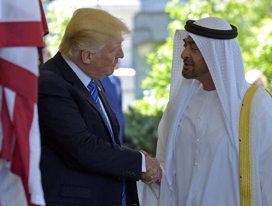 Donald Trump, Muhammad bin Zayid Al Nuhayyan