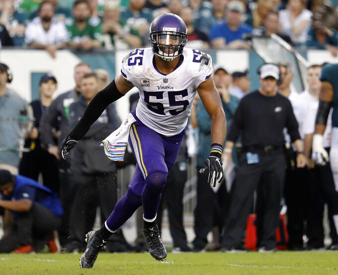 Relieved Barr remains a Viking after uneasy pledge to Jets