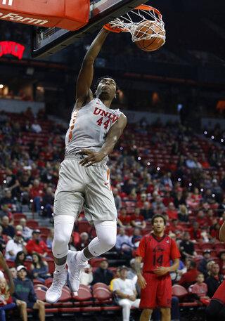 APTOPIX S Utah UNLV Basketball
