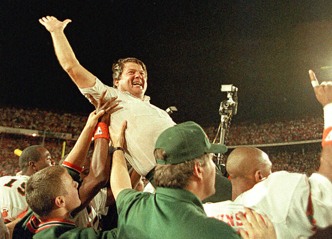 In college football, the 1980s belonged to Miami