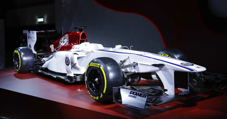 Italy F1 Alfa Romeo Sauber Team