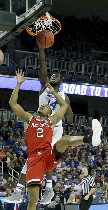 NCAA NC State Seton Hall Basketball