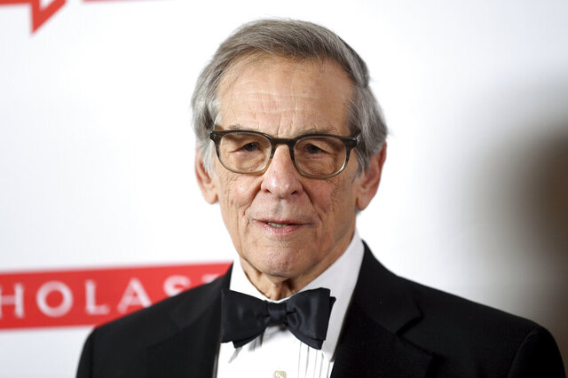 FILE - This May 21, 2019 file photo shows author Robert Caro at the 2019 PEN America Literary Gala in New York. The historian discusses life during the pandemic and gives a progress report on his final Lyndon Johnson book in an exclusive interview with the Associated Press. (Photo by Evan Agostini/Invision/AP, File)