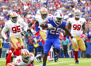 49ers Bills Football