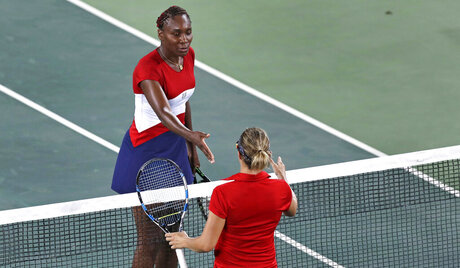 Venus Williams, Kirsten Flipkens