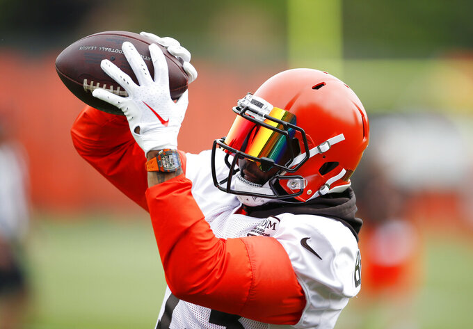 All eyes on OBJ as Beckham finally practices with Browns