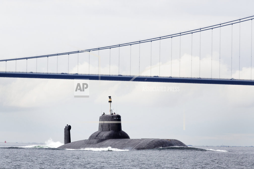 Denmark Russian nuclear submarine