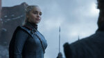 This image released by HBO shows Emilia Clarke in a scene from the final episode of