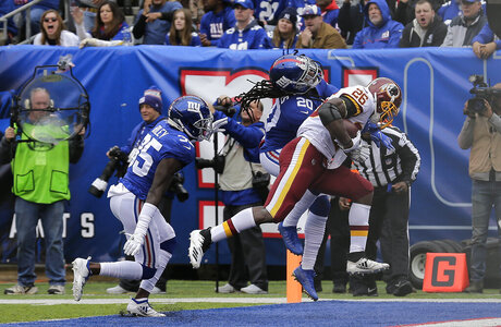 APTOPIX Redskins Giants Football