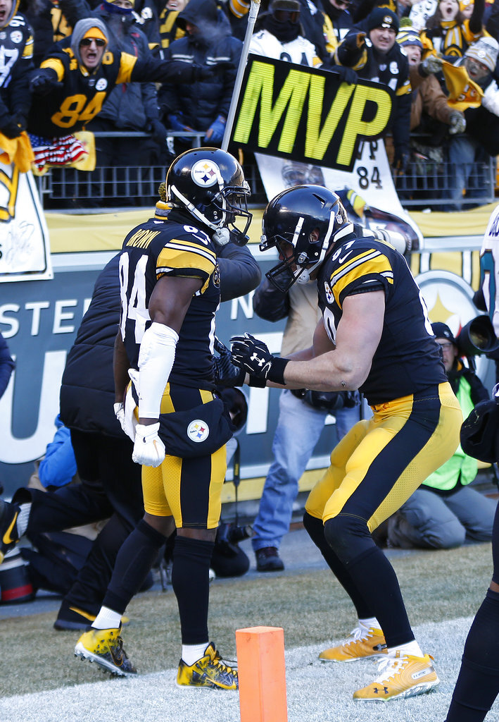 Antonio Brown, Vance McDonald