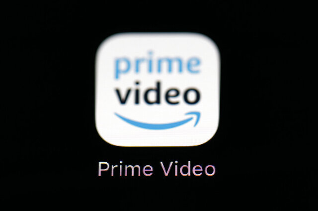 FILE - This March 19, 2018 file photo shows Amazon's Prime Video streaming app on an iPad in Baltimore. SXSW announced Thursday that it's partnering with Amazon Prime Video to stream as much of its movie line-up as possible for a 10-day period in the U.S. It will be free to viewers with or without an Amazon Prime membership. Since the March festival was canceled, SXSW organizers have worked frantically to salvage what they could of the festival, and find ways to still bring attention to the many films that had been planning to premiere there. (AP Photo/Patrick Semansky, File)