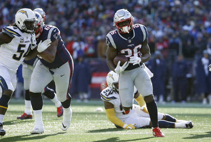 Patriots offense thriving after emphasis of rushing game