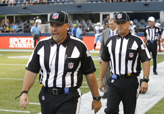 NFl Replacement Officials Football