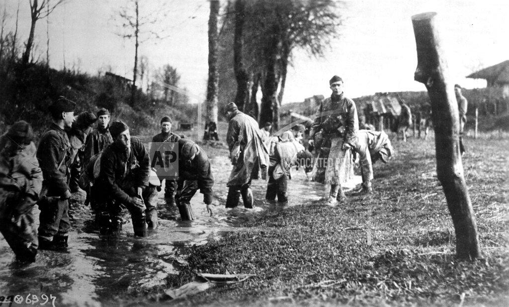 Watchf AP I   FRA APHS456753 WWI U.S. Army France