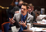 FILE - In this June 17, 2020, file photo Rep. Matt Gaetz, R-Fla., speaks during a House Judiciary Committee markup of the Justice in Policing Act of 2020 on Capitol Hill in Washington. (Kevin Dietsch/Pool via AP, File)