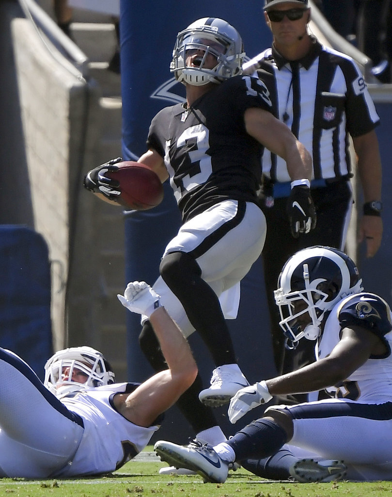 Raiders Rams Football