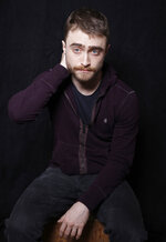 FILE - In this Jan. 23, 2016, file photo, actor Daniel Radcliffe poses for a portrait to promote the series,