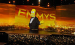 Animated character Homer Simpson is projected on screen at the 71st Primetime Emmy Awards on Sunday, Sept. 22, 2019, at the Microsoft Theater in Los Angeles. (Photo by Chris Pizzello/Invision/AP)