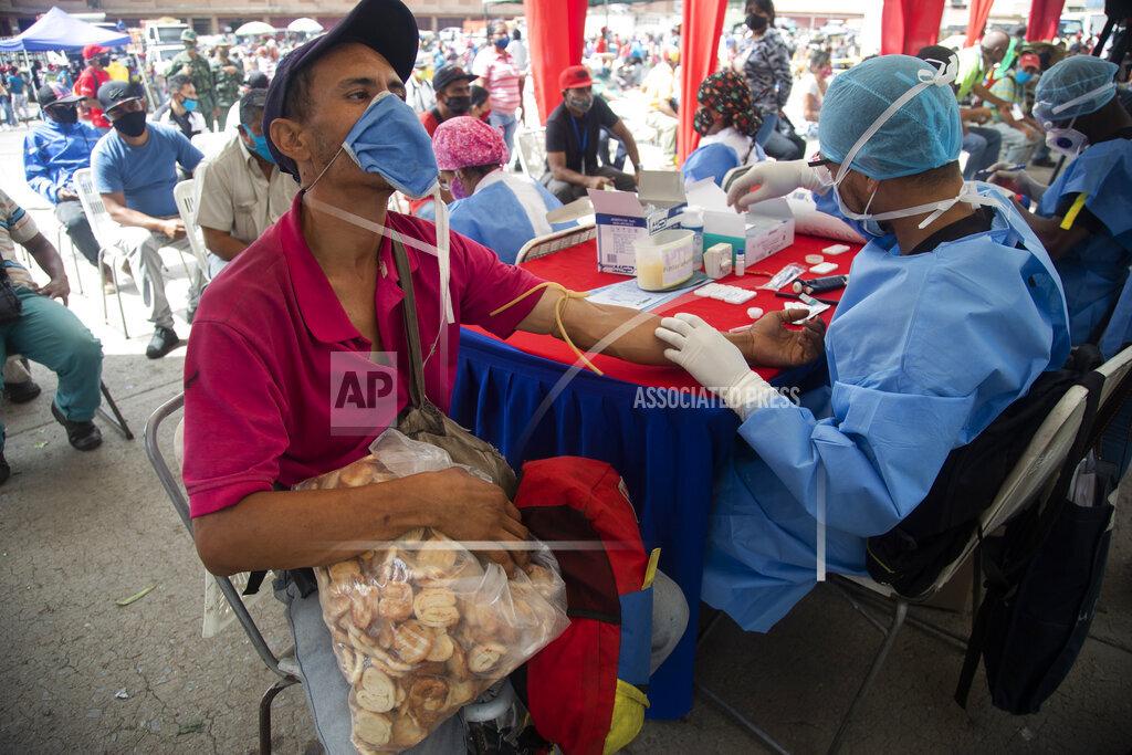 Virus Outbreak Latin America Markets