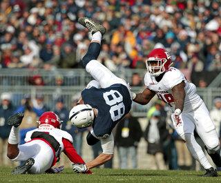 APTOPIX Rutgers Penn St Football