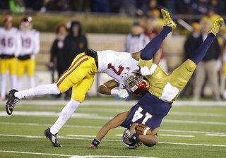APTOPIX USC Notre Dame Football