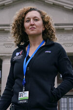 Dr. Daniela Lamas, a writer for the medical television drama