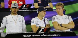 Felipe Massa, Nico Rosberg, Lewis Hamilton
