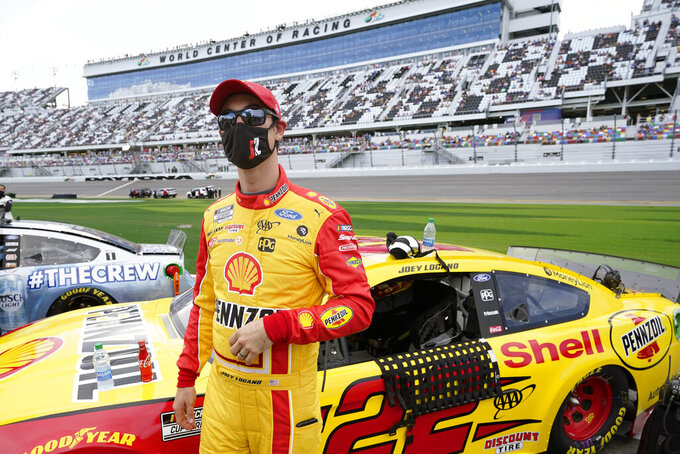 Logano wants peace at Penske following Daytona 500 crash