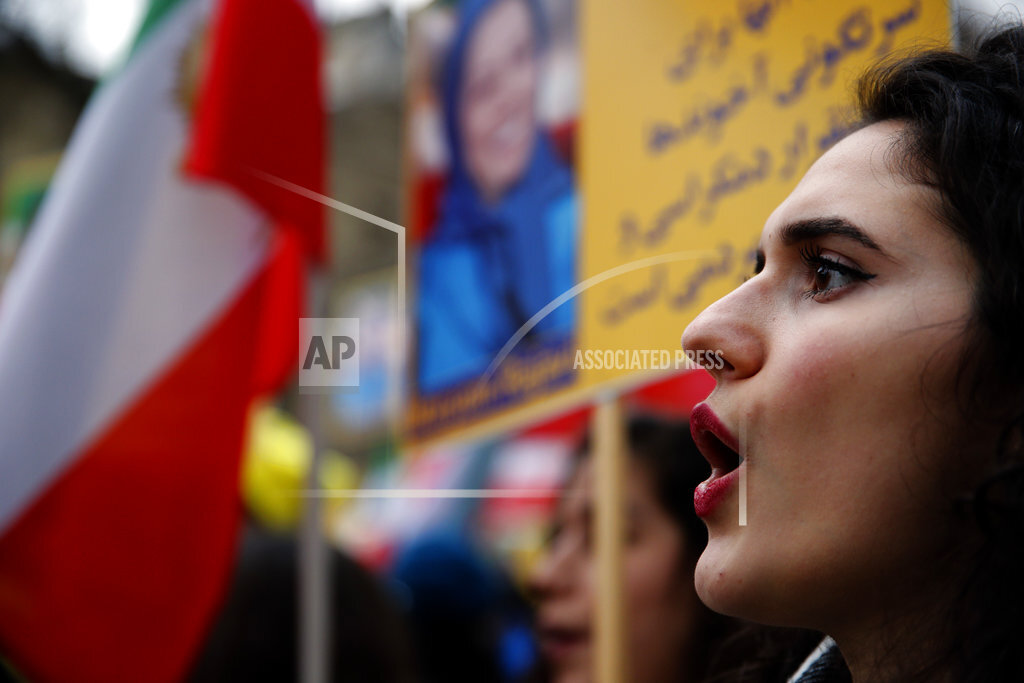 France Iran Protest