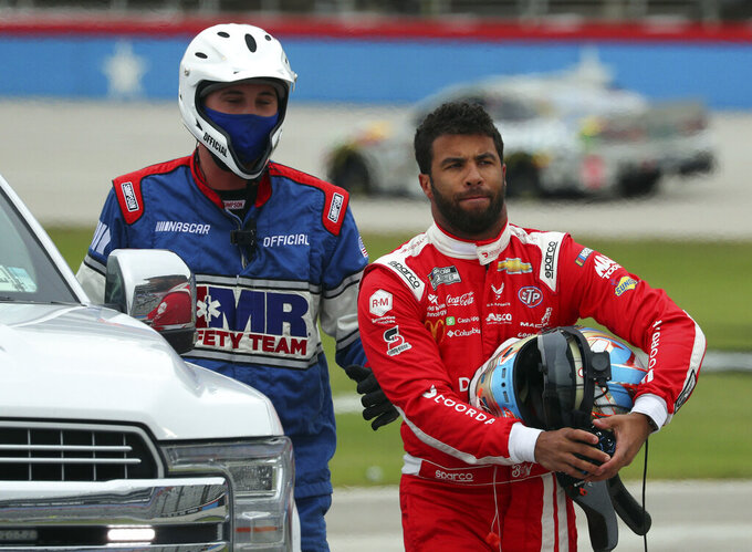 Bubba Wallace, who urged Confederate flag ban, honored