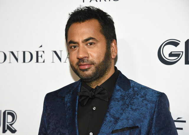 "FILE - Kal Penn attends the Glamour Women of the Year Awards in New York on Nov. 11, 2019. Penn is hoping to reach Millennial and Gen Z voters with a new half-hour TV show on Freeform, ""Kal Penn Approves This Message,"" premiering Tuesday, Sept, 22. (Photo by Evan Agostini/Invision/AP, File)"