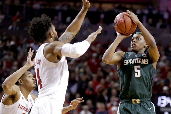 Michigan State's Winston has become player of year candidate