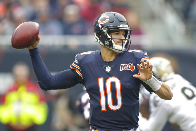 Trubisky insists he has Nagy's support, offense will click