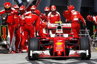 F1 Ferrari Flop Auto Racing