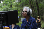 In this undated photo provided by Focus Features, writer/director Jim Jarmusch works on the set of his latest film