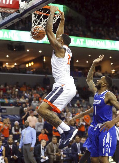 Hampton Virginia Basketball