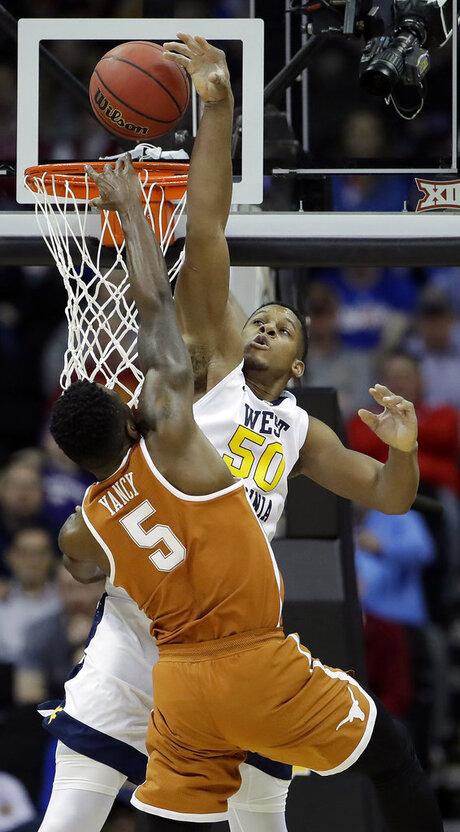 B12 Texas West Virginia Basketball
